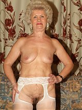 Nasty grannies Francesca and Erlene play with kinky adult toys and later plunge it in each others pussies