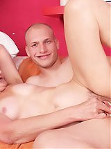 Irene is the elderly model holding her dentures while she gets screwed during a cam show